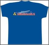 Эксклюзивная водкомоторная футболка - вышивка на спине
