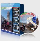Blu-ray бокс и диск - пример оформления Buon giorno, Italia! Или плановое обследование сапога