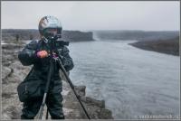 Vodkomotornik Pictures работает в Исландии на Детфоссе