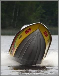 Е.Слетин на своем Viking 520