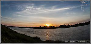 Закат на реке Неман