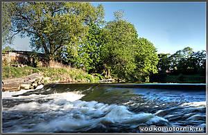 Черняховск - плотина