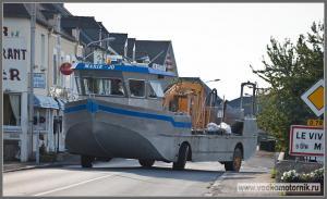 Водкомоторка на дорогах Франции
