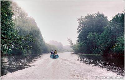 По реке Товарная 1996г.
