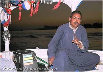 Египетский водномоторник. 2007г. Нил.
