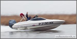 Bayliner ходовые испытания катера