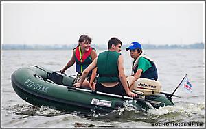 Nord Boat 2700 на Калининградском заливе