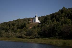 Дудин Монастырь р.Ока