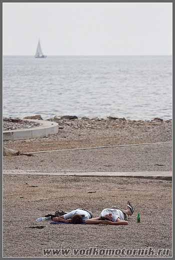 Активный отдых у моря.