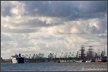 Клайпедский порт.