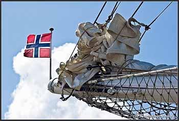 Яхта \'STATSRAAD LEHMKUHL\' Норвегия.