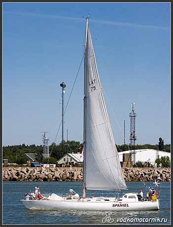Яхта 'SPANIEL' Латвия