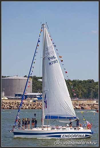 Яхта 'ENDORFINA' Польша