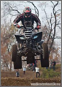 Квадроцикл на взлете...
