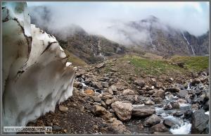 Пиренеи водопад Гаварни
