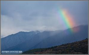 Радуга в Пиренеях
