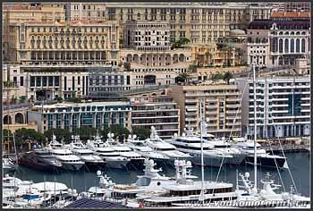 Монако. Марина.