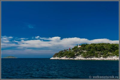 Хорватия - типичные виды с борта яхты