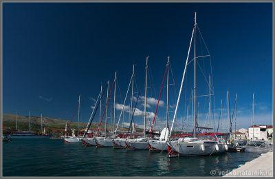 Яхты в Трогире