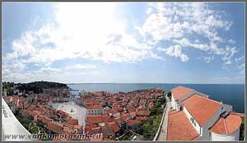 Панорама г. Пиран (Piran)