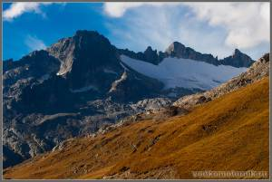 Furka pass - перевал в Альпах