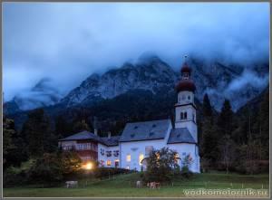 Ночь спустилась с гор