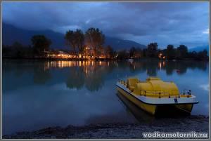 Вечер на lago Garda