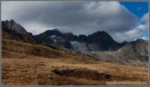Перевал в Альпах Furka pass
