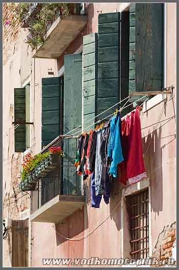 Венеция. Окна.