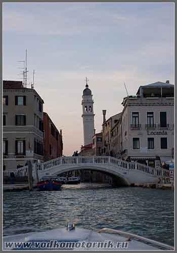 Венеция. Выход на Гранд канал.