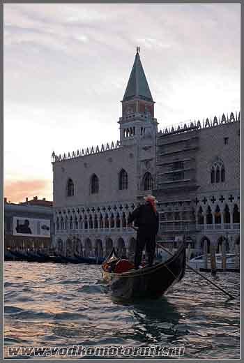 Венеция. Гранд канал. Вечереет.