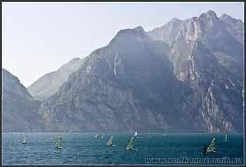 На озере Гарда (Garda) в Италии.