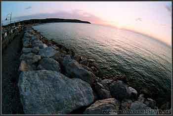 Вид на Адриатическое море.