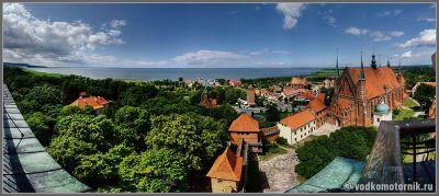 Фромборк - панорама города