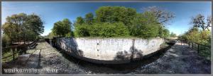 Мазурский канал. Шлюз Алленбург.