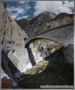 Альпы - Чертов мост