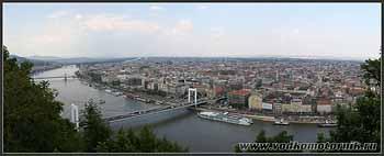 Панорама Будапешта.