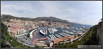 Марина в Монако. Вид от резиденции принца.