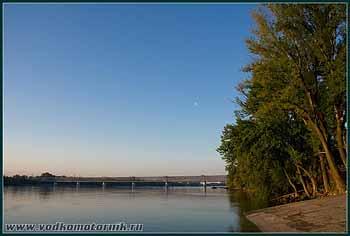 Дунай утром. 2008г.