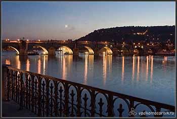 Прага Карлов мост.