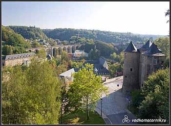 Люксембург. Город.