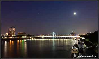 Кельн. Вид на Рейн.