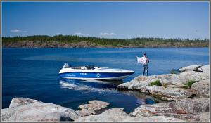 Ладога - флаг водкомоторников