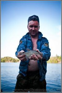 Рыба в Ладоге - есть!