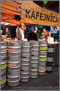 Рига пивной фестиваль - торговля