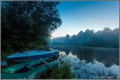 Водкомоторный флот на тавских озерах