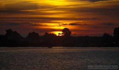 Закат в п.Озерки