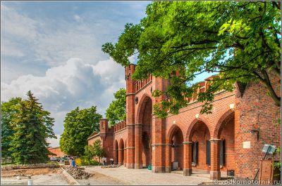 Росгартенские ворота г.Калининград
