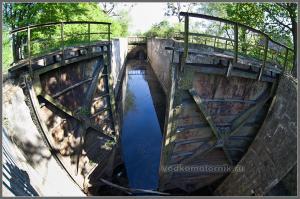 Мазурский канал. Шлюз Алленбург