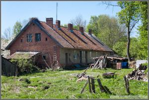 Ягодное. Немецкий дом.